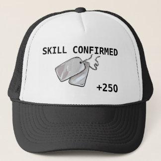 Skill Confirmed +250 Trucker Hat