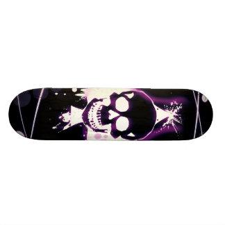 skill purple design skate decks
