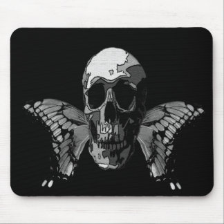 Skill with Butterfly Wings Mouse Pad