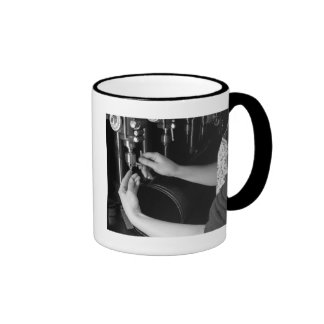 Skilled Hands, 1942 Ringer Coffee Mug