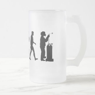 Skilled trades - Welders Welding Gear Frosted Glass Beer Mug