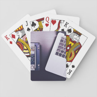 skillful executive items playing cards
