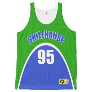 SKILLHAUSE - 95 MAVERICK EXCEL  (NO COLOR CHOICE) All-Over-Print TANK TOP