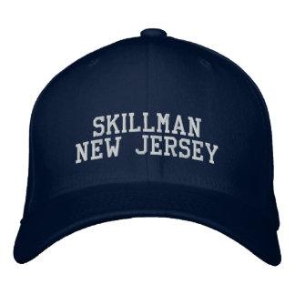 Skillman New Jersey Gorras De Beisbol Bordadas