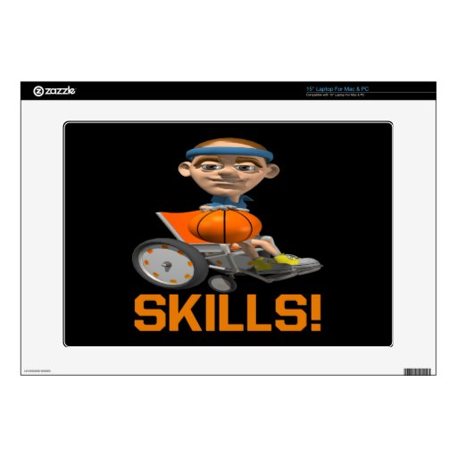 """Skills 10 decals for 15"""" laptops"""