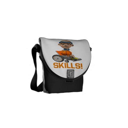 Skills 10 messenger bag