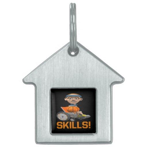 Skills 10 pet name tag