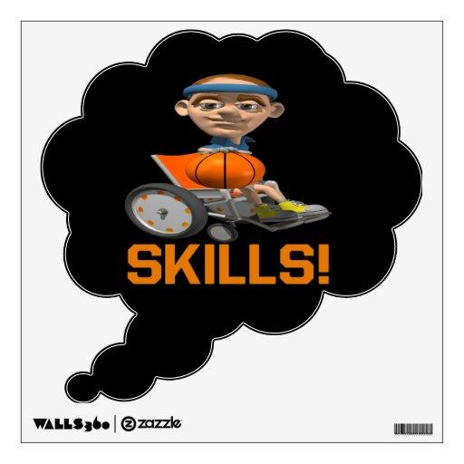 Skills 10 wall skins