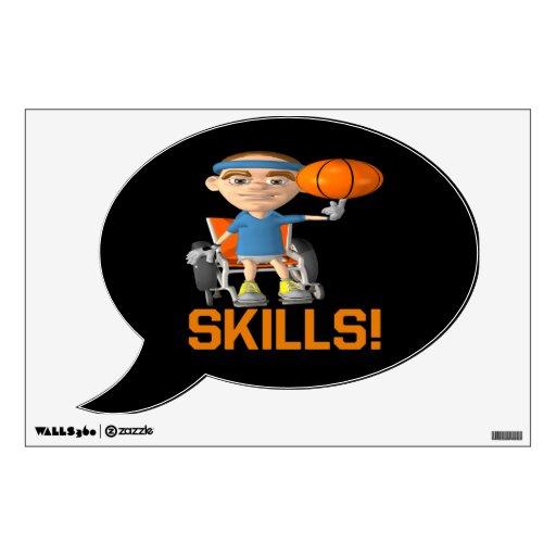Skills 11 wall sticker