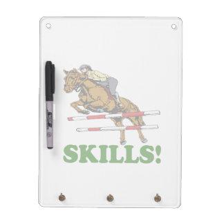 Skills 2 dry erase whiteboard