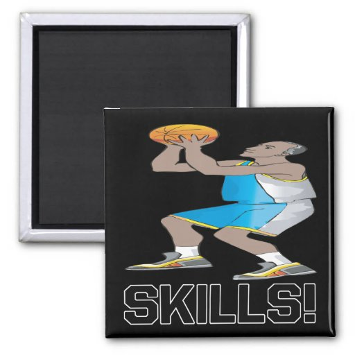 Skills 2 Inch Square Magnet