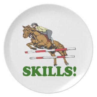 Skills 2 dinner plates
