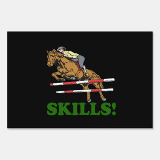Skills 2 yard signs