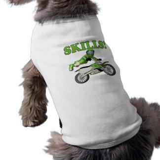 Skills 3 doggie tshirt