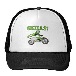 Skills 3 trucker hat