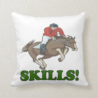 Skills 3 pillow