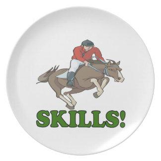Skills 3 dinner plate