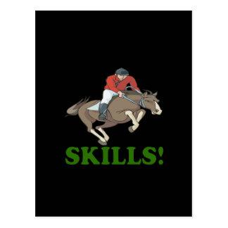 Skills 3 postcard
