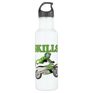 Skills 3 stainless steel water bottle