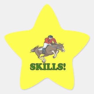 Skills 3 star sticker