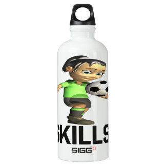 Skills Aluminum Water Bottle