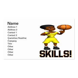 Skills Business Cards