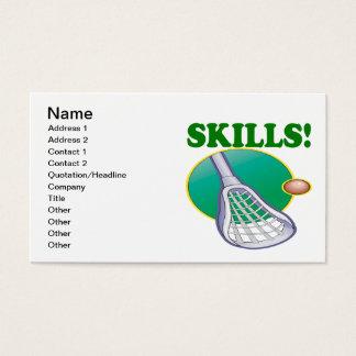 Skills Business Card
