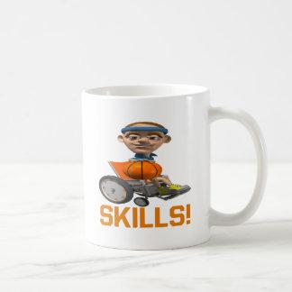 Skills Classic White Coffee Mug