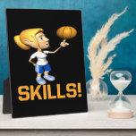 Skills Display Plaque