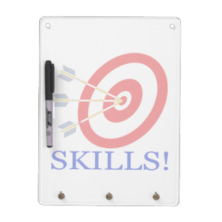 Skills Dry-Erase Whiteboard