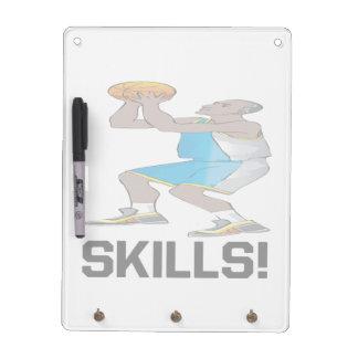Skills Dry Erase Whiteboard