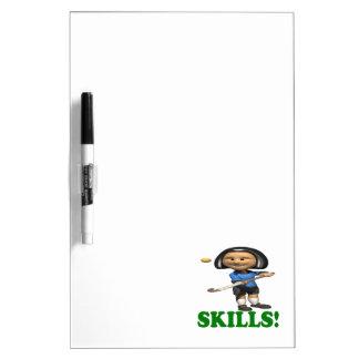 Skills Dry-Erase Whiteboards