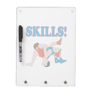 Skills Dry Erase Boards