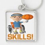 Skills Key Chains
