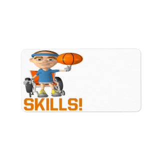 Skills Personalized Address Labels