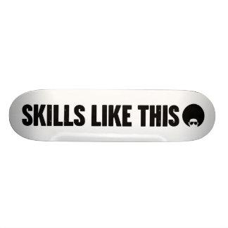 Skills Like This Title Skateboard