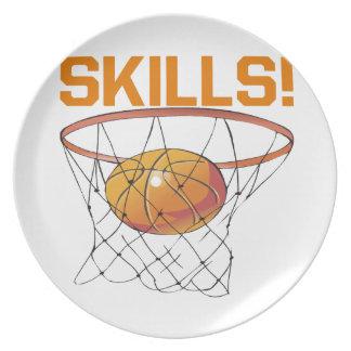 Skills Melamine Plate