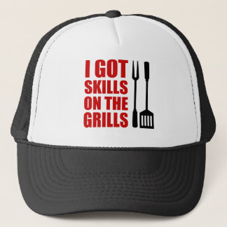 Skills On The Grills Trucker Hat