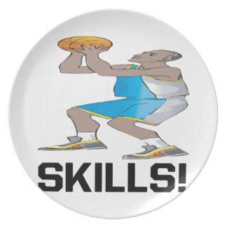 Skills Party Plates