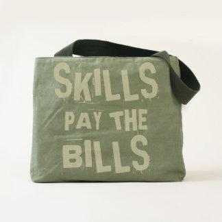 Skills Pay the Bills Tote