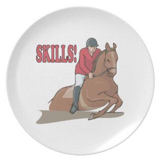 Skills Dinner Plate