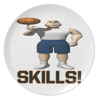 Skills Party Plate