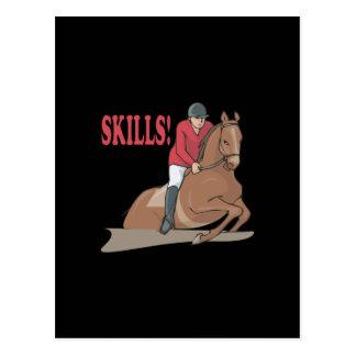 Skills Postcard