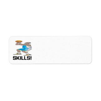 Skills Return Address Label