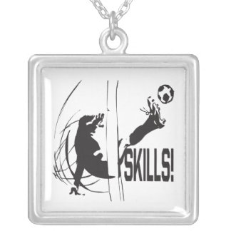 Skills Silver Plated Necklace