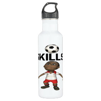 Skills Stainless Steel Water Bottle