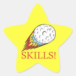 Skills Star Sticker
