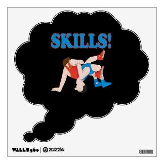 Skills Wall Stickers