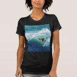 Skimboard Surfer T Shirts