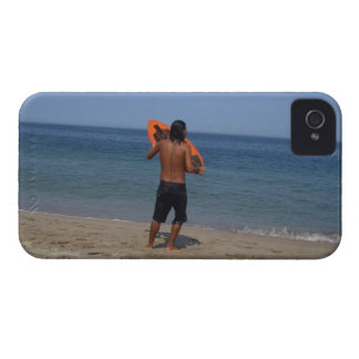 Skimboarder Contemplation iPhone 4 Cover